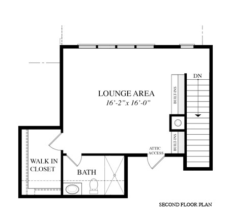 Second Floor Plan - Copy